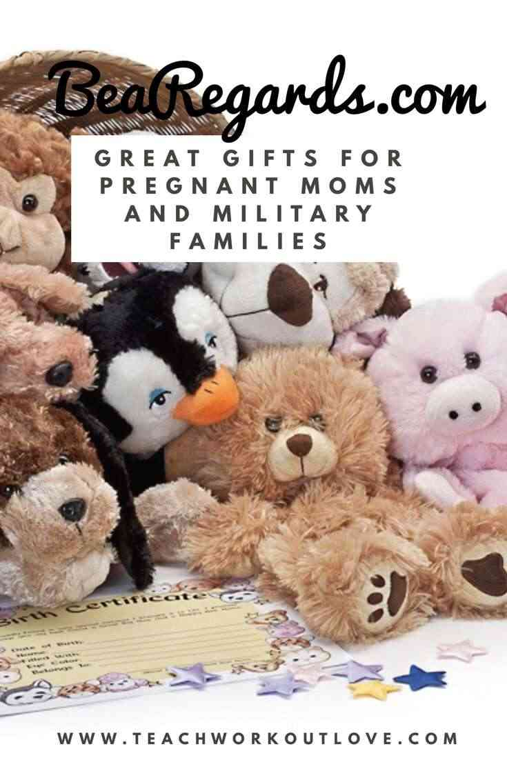 Why BeaRegards Has a Great Gift for Pregnant Women and Military Families