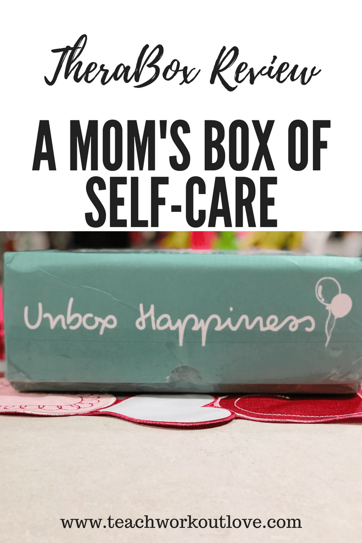 A Mom's Box of Self-Care: TheraBox Review