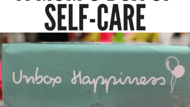 Photo of A Mom's Box of Self-Care: TheraBox Review