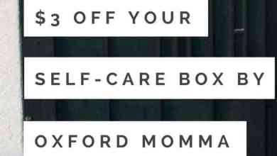 Photo of 3 Easy Self-Care Actions and $3 off Self-Care Box by Oxford Momma