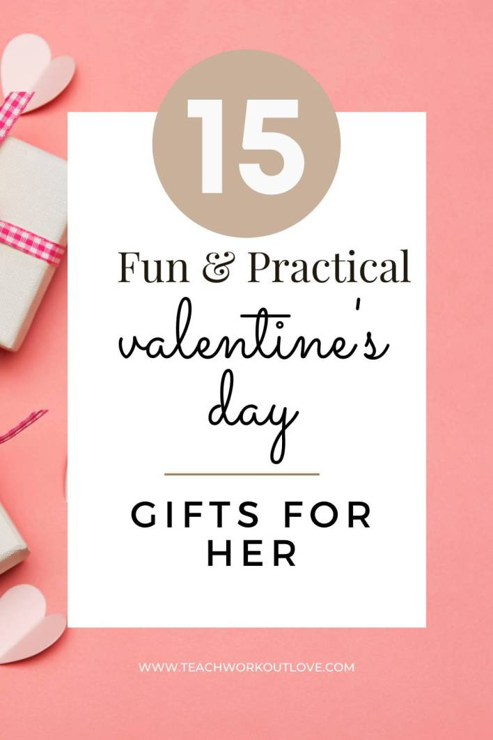 Every year we struggle with what to get women for Valentine's Day. Here are fun and practical Valentine's Day gifts for her that shows you rocked it.
