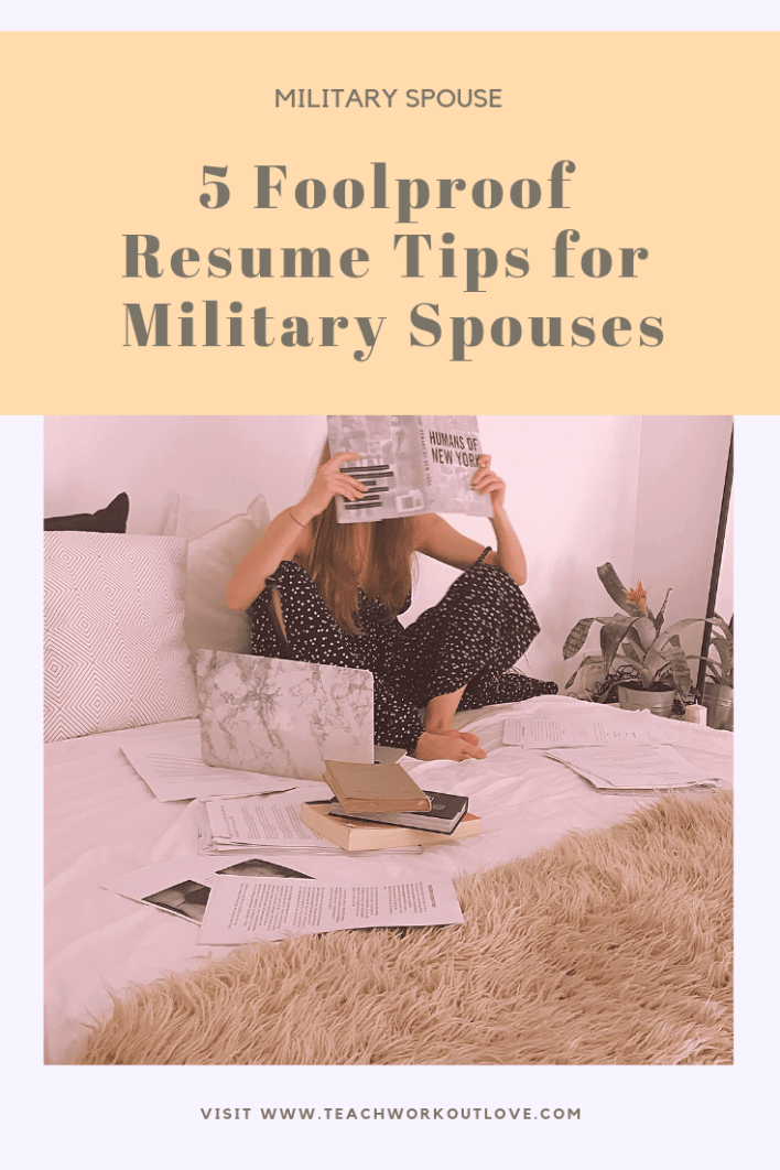 resume-tips-for-military-spouses-teachworkoutlove.com