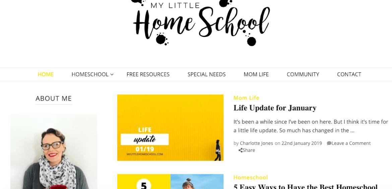 my-little-homeschool