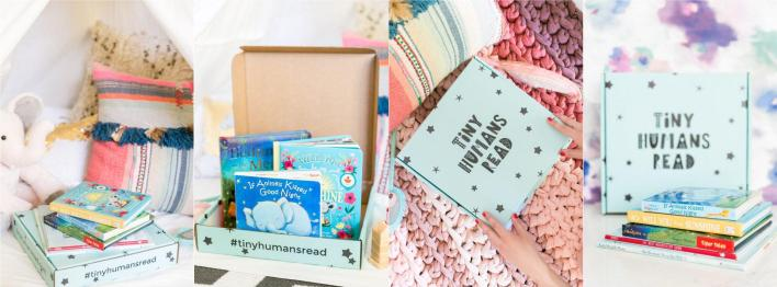 Tiny Humans Read Kids Book Subscription Box