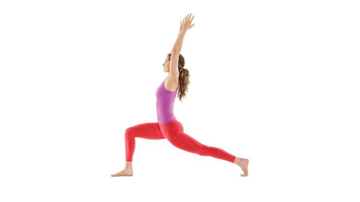 The Crescent Lunge Pose