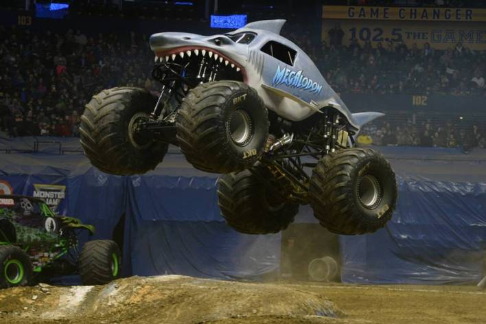 Megalodon real Spokane Monster Jam