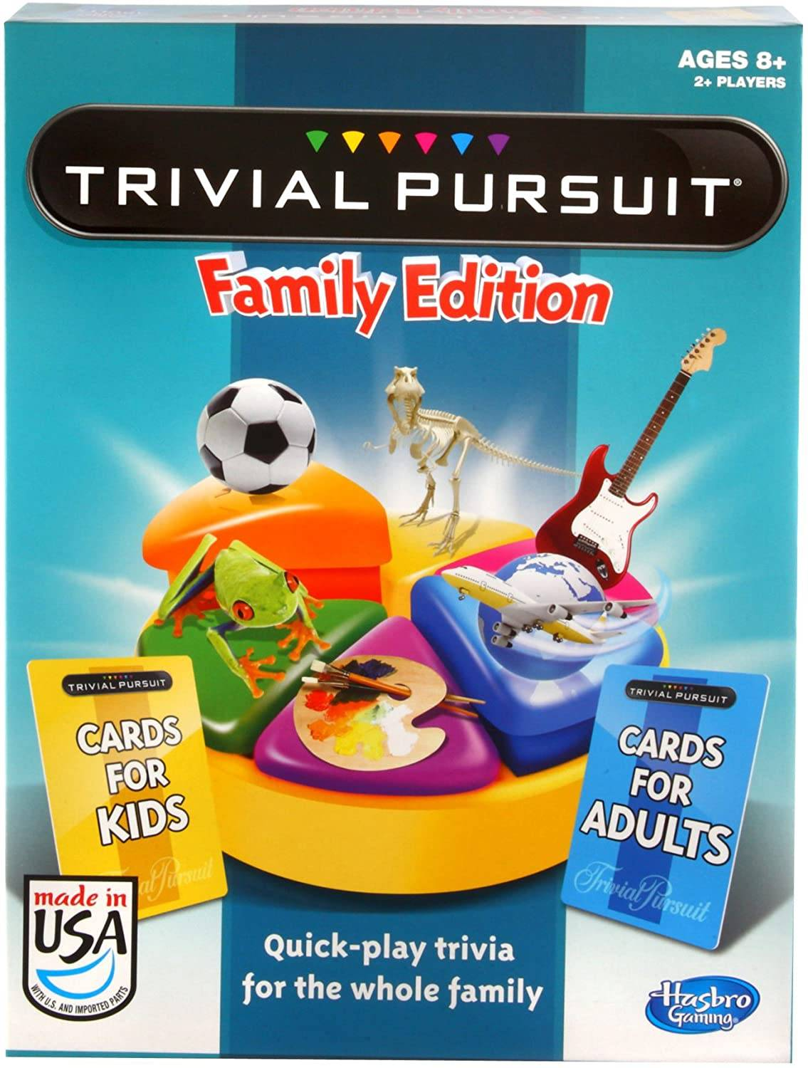 trivial pursuit game for family
