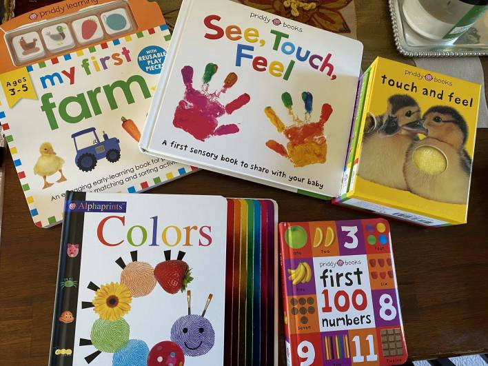 Priddy Books developmental milestones