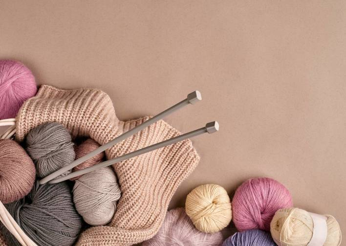 knitting as a hobby