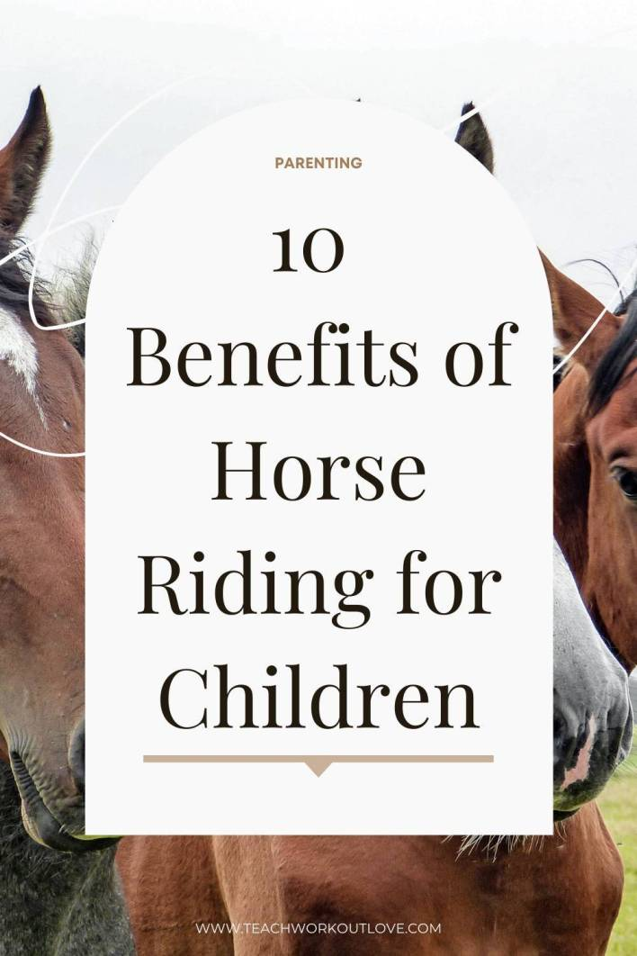 Bonding with a hooved friend can improve your child's well-being immensely. Check this article that reveals 10 benefits of horse riding.