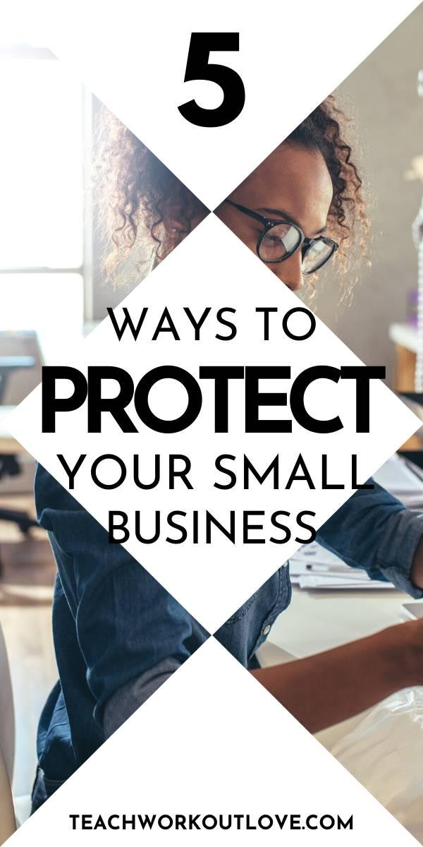 Small businesses are an easy target for criminals. We have put together some tips on how to protect your small business.