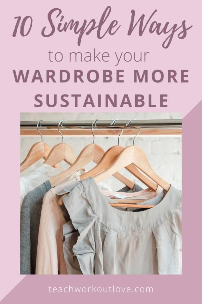 Want to figure out how to make your wardrobe more sustainable? We have the best tips for working moms. Read on!