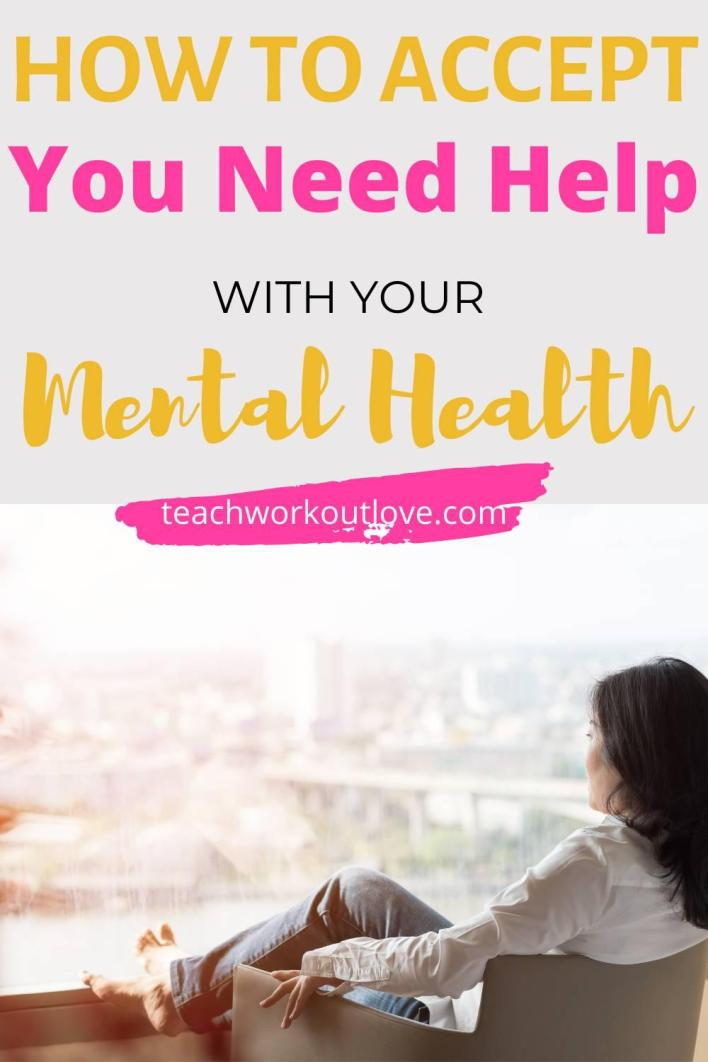 We will discuss how to accept that you need help, and how to go about seeking it for your own recovery and mental health.