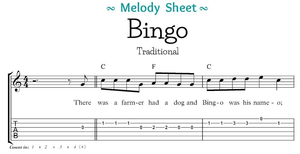 Bingo Melody Segment