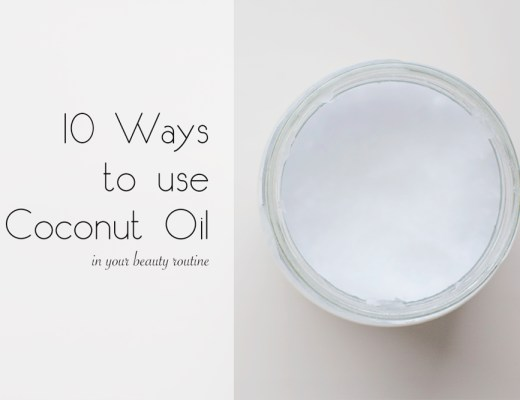 10 ways to use coconut oil