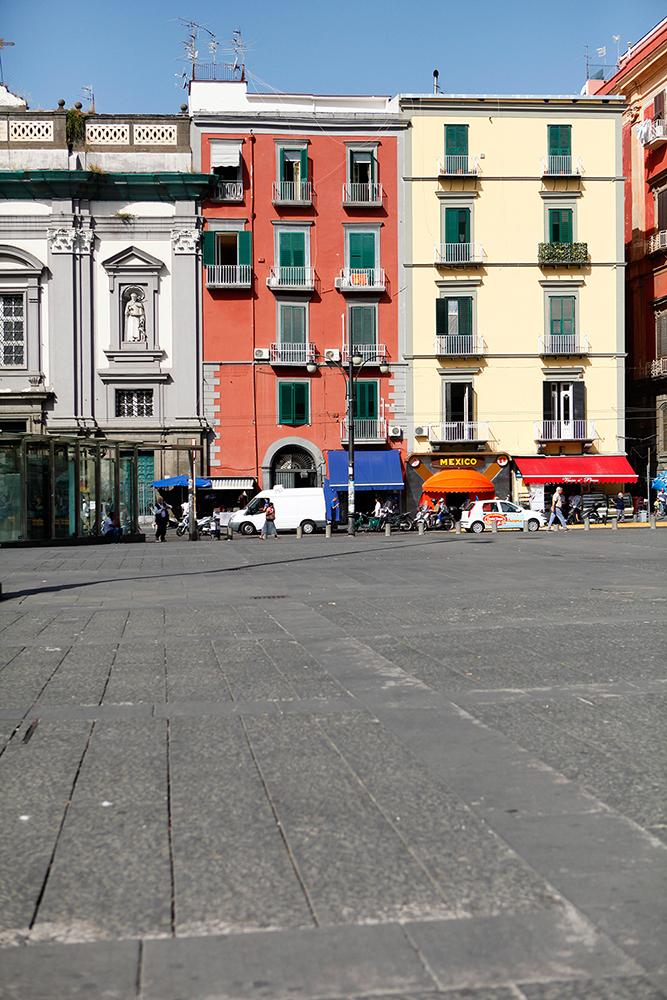Naples in Italy