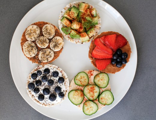 Healthy Snack Rice Cakes Recipes