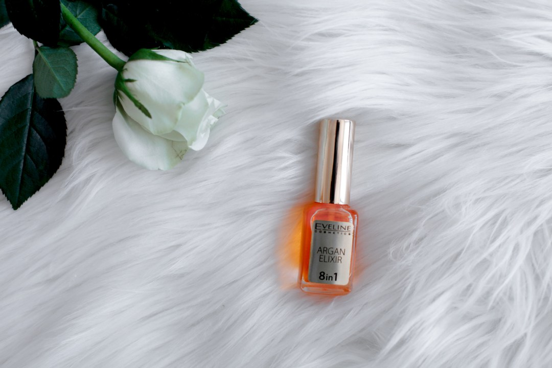 Argan oil elixir for strong nails