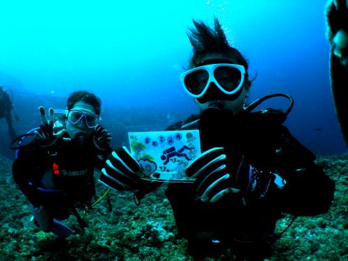 慶良間記念ダイビング