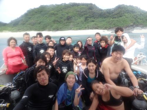 慶良間ダイビングツアー