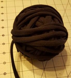 Leggings into yarn
