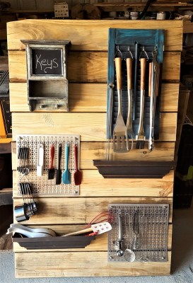 diy utensil board