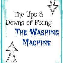 fixing the washing machine