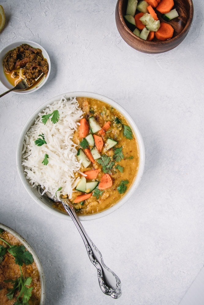 Easy Red Lentil Curry Masoor Dal