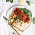 Baked Salmon in Spicy Tomato Masala
