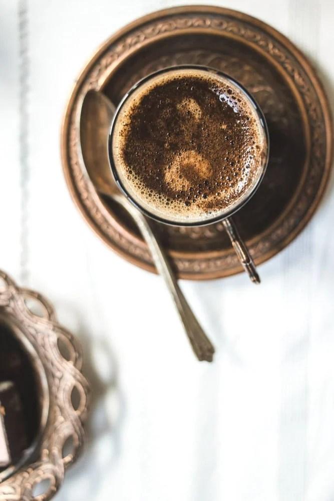 Turkish Coffee foam
