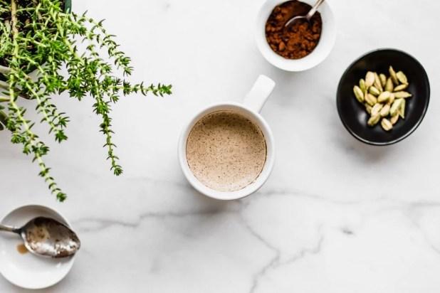 Turkish Coffee from Saucepan