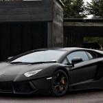 Matte Black Lamborghini Hd 1920x1200 Wallpaper Teahub Io