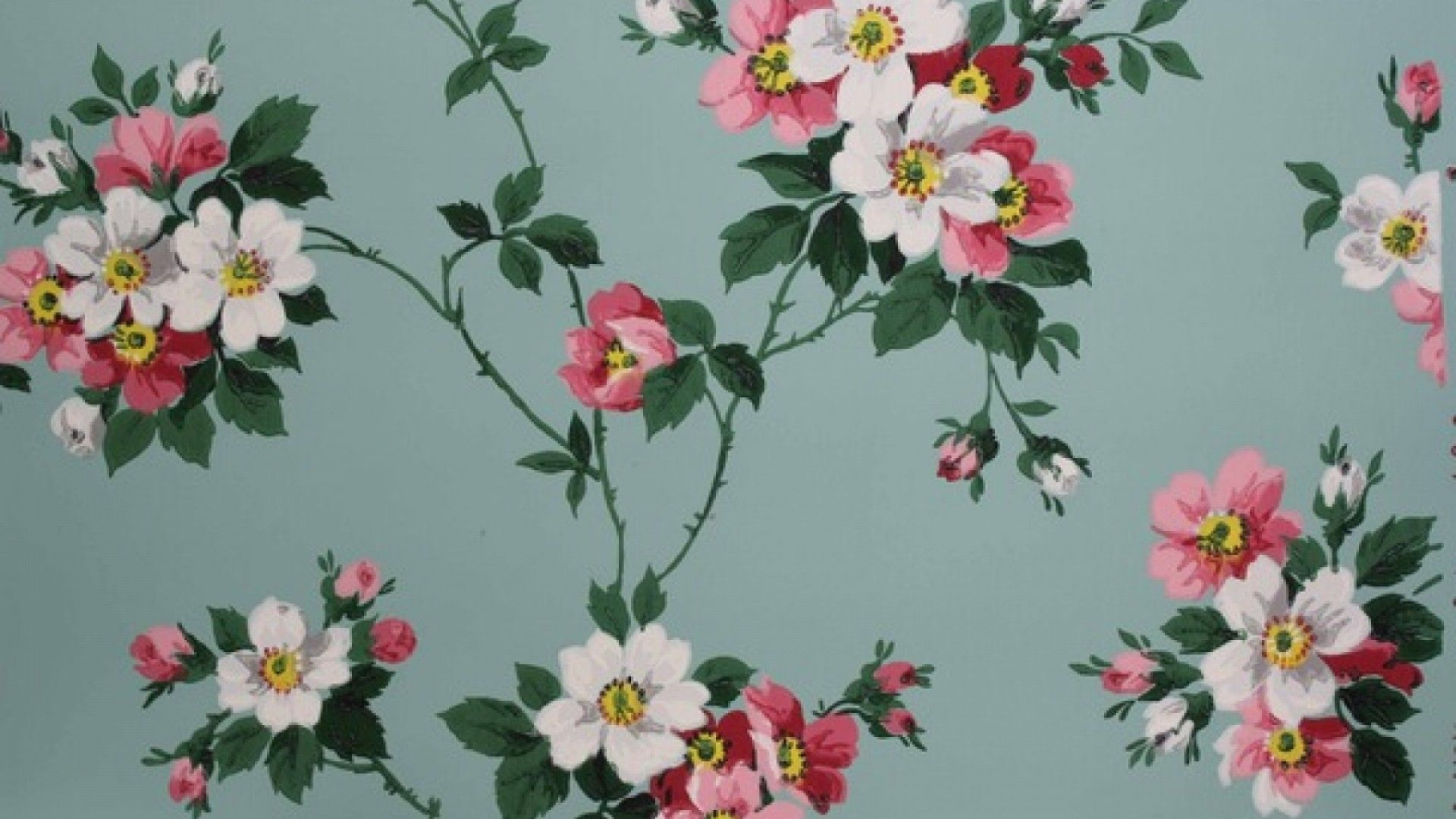 Collection Of Vintage Flowers Backgrounds Vintage Flower Vintage Wallpaper Desktop 1920x1080 Wallpaper Teahub Io