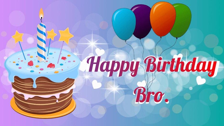 Bro Happy Birthday For Brother 937x528 Wallpaper Teahub Io