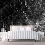 Black Marble Wallpaper Bedroom 1200x742 Wallpaper Teahub Io