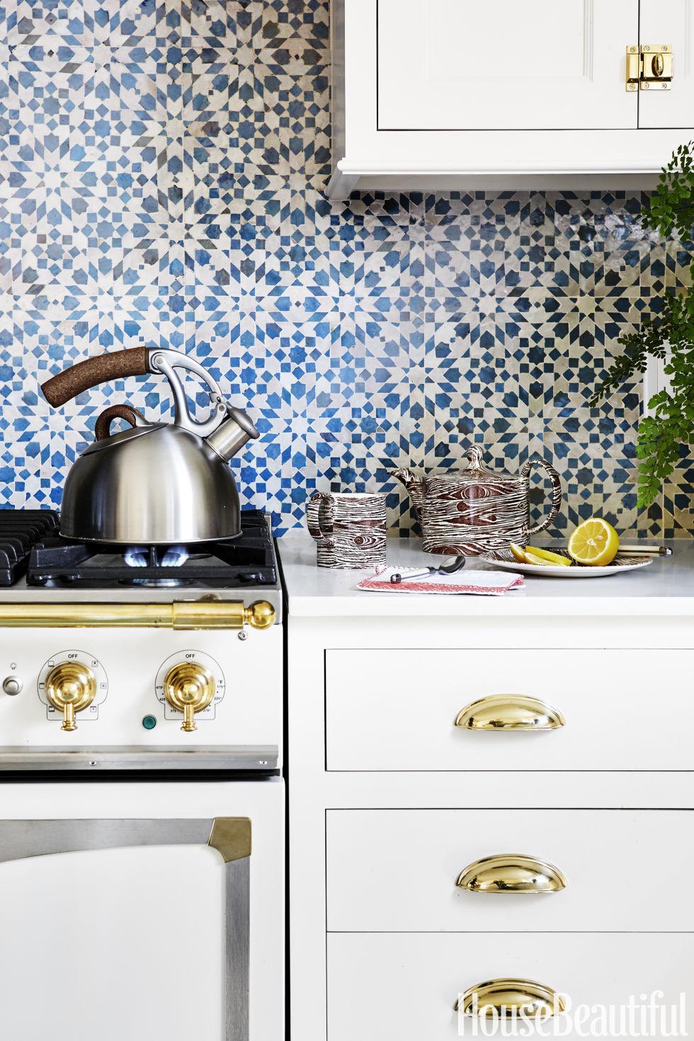 unusual kitchen wallpaper backsplash