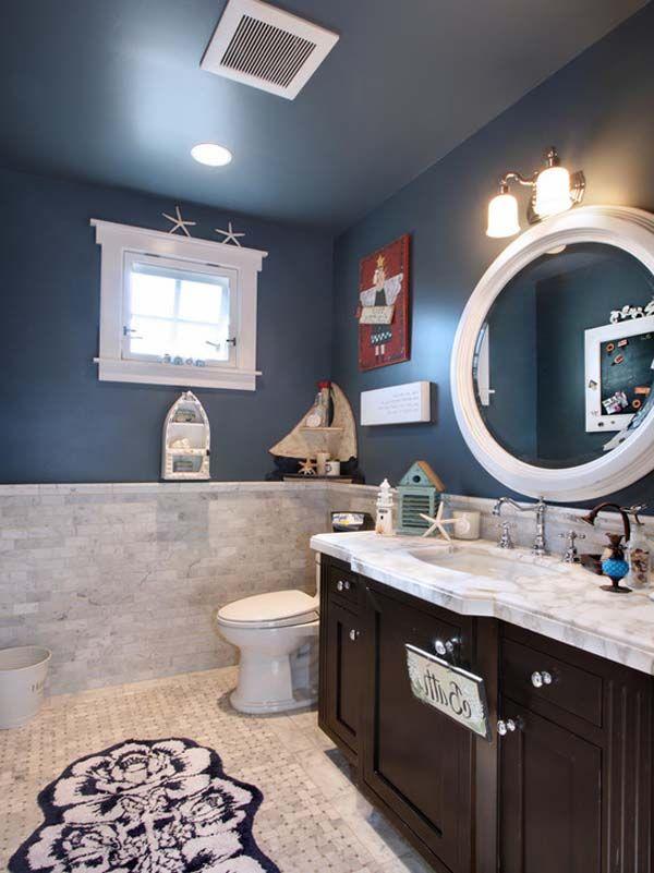 Attractive Nautical Theme Bathroom Best 25 Accessory Small Nautical Bathroom Ideas 600x801 Wallpaper Teahub Io