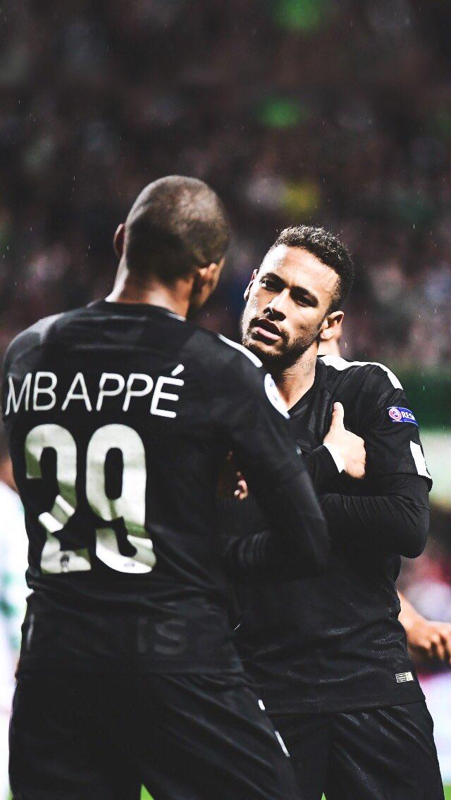 mbappe neymar wallpaper iphone