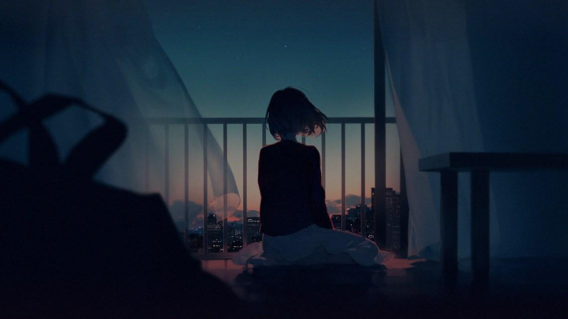 Alone Anime Sad Girl 2560x1440 Wallpaper Teahub Io