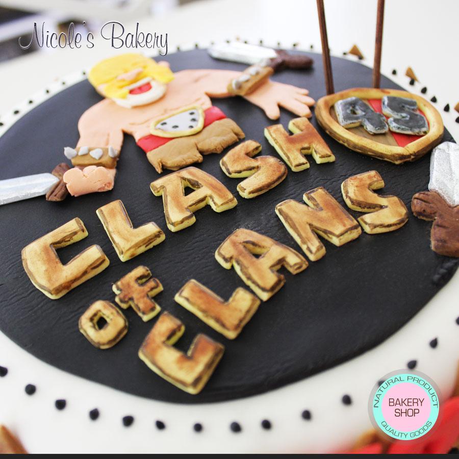 Clash Of Clans Birthday Cake With Name 900x900 Wallpaper Teahub Io