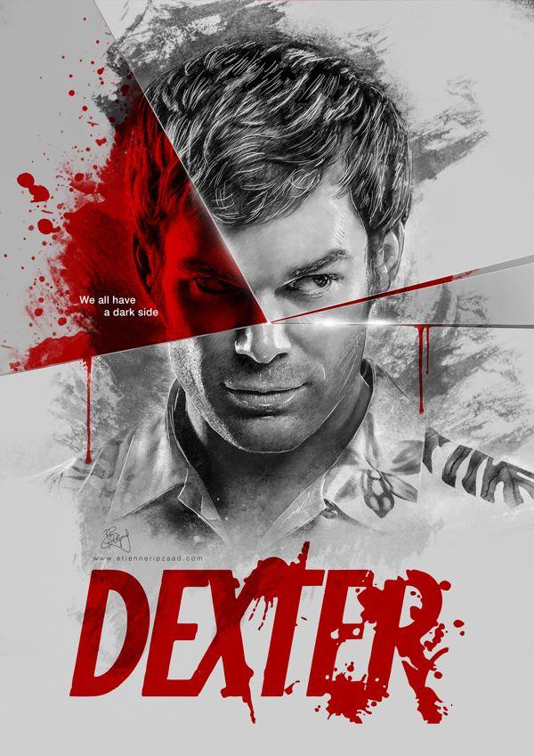 Images Of Dexter Dexter Tv Show Poster 600x849 Wallpaper Teahub Io