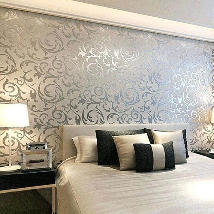 Bedroom Wallpaper Feature Wall 713x713 Wallpaper Teahub Io