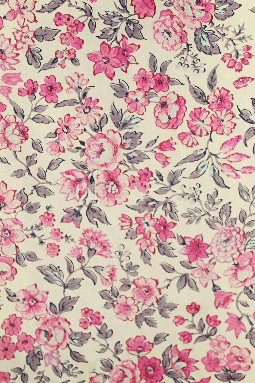 Vintage Flower Wallpaper Iphone 1066x1600 Wallpaper Teahub Io
