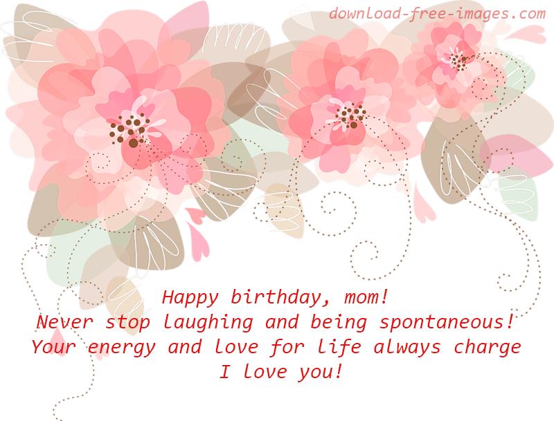 Happy Birthday Mom From Son Birthday Wishes For Mom Free Happy Birthday Mom Ecards 800x609 Wallpaper Teahub Io