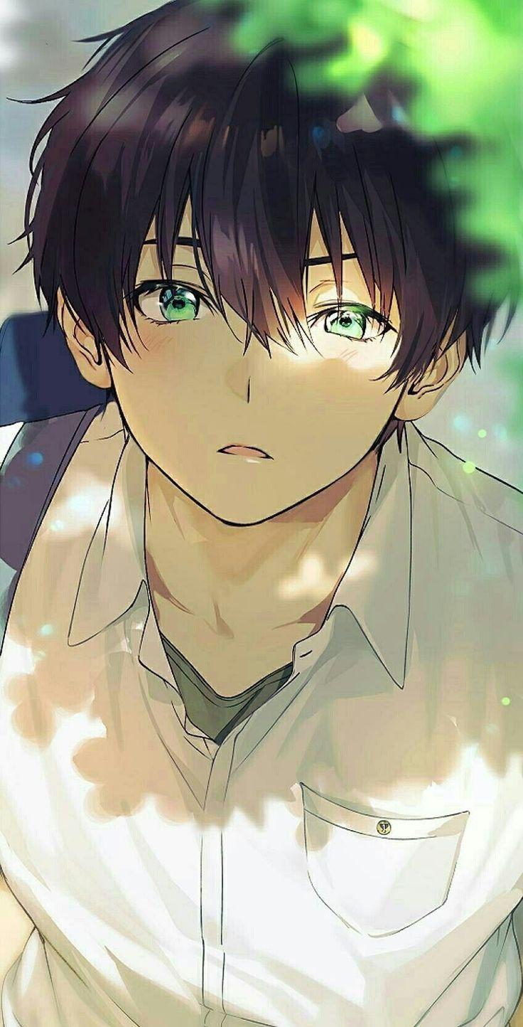 Cute Anime Boy Hd 736x1444 Wallpaper Teahub Io