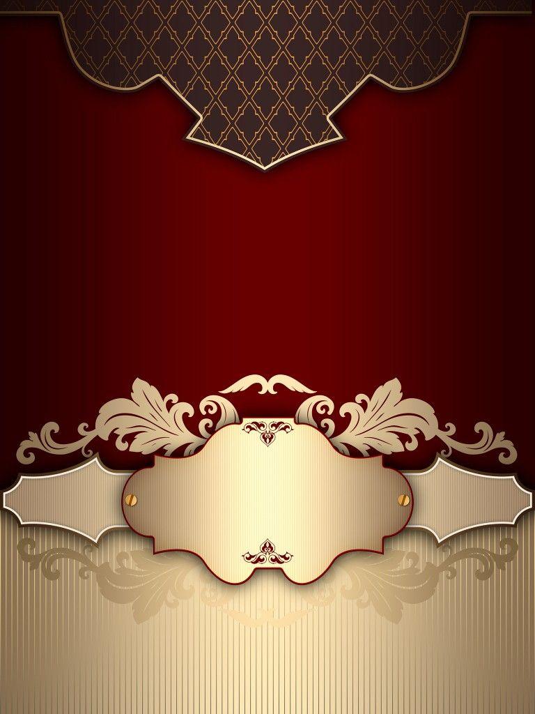 background muslim wedding card design
