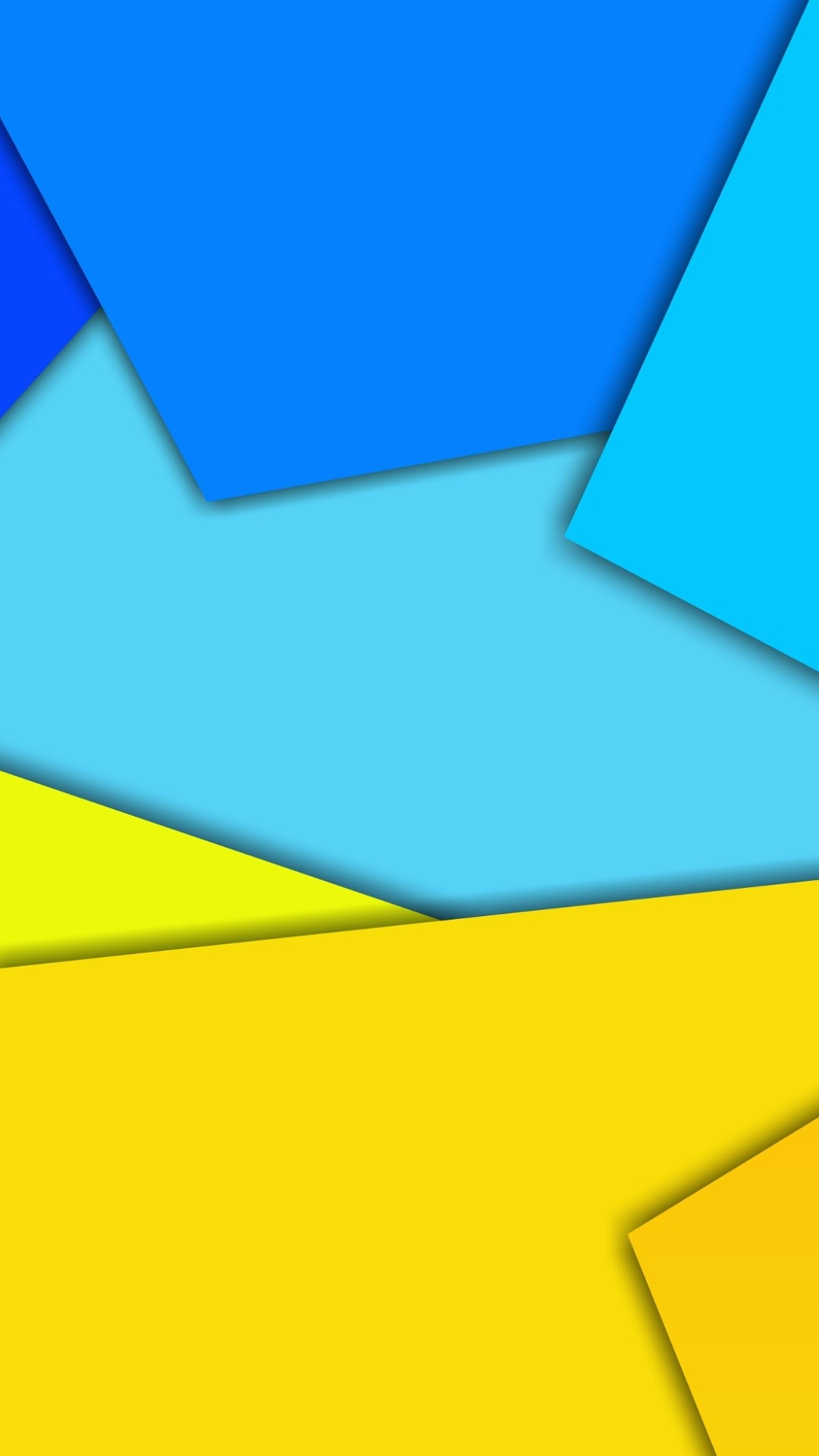 Iphone Wallpaper Yellow And Blue Geometric Figure Blue And Yellow Iphone 1080x1920 Wallpaper Teahub Io