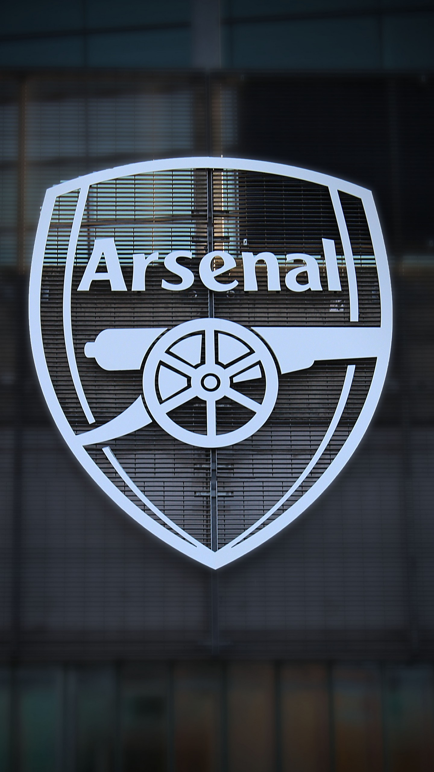 arsenal black and white logo