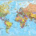 High Resolution World Map 3d 1430x832 Wallpaper Teahub Io