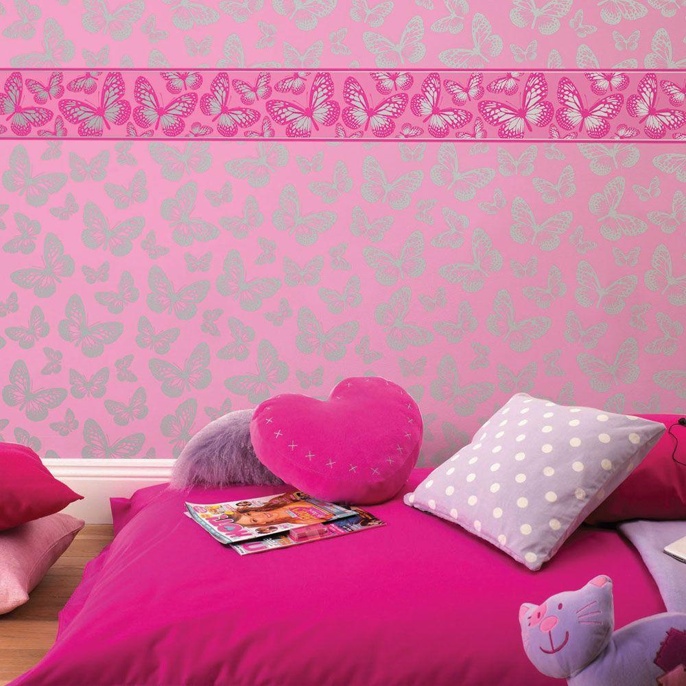 Girls Bedroom Wallpaper Kids Unicorn Merma Rouleau Papier Peint Disney 1000x1000 Wallpaper Teahub Io